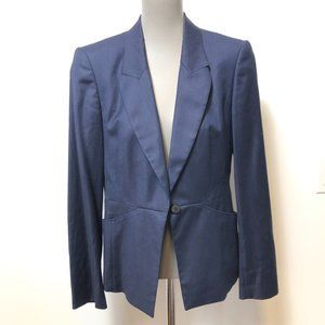 Boss Hugo Boss Fitted Navy Blazer Size Small